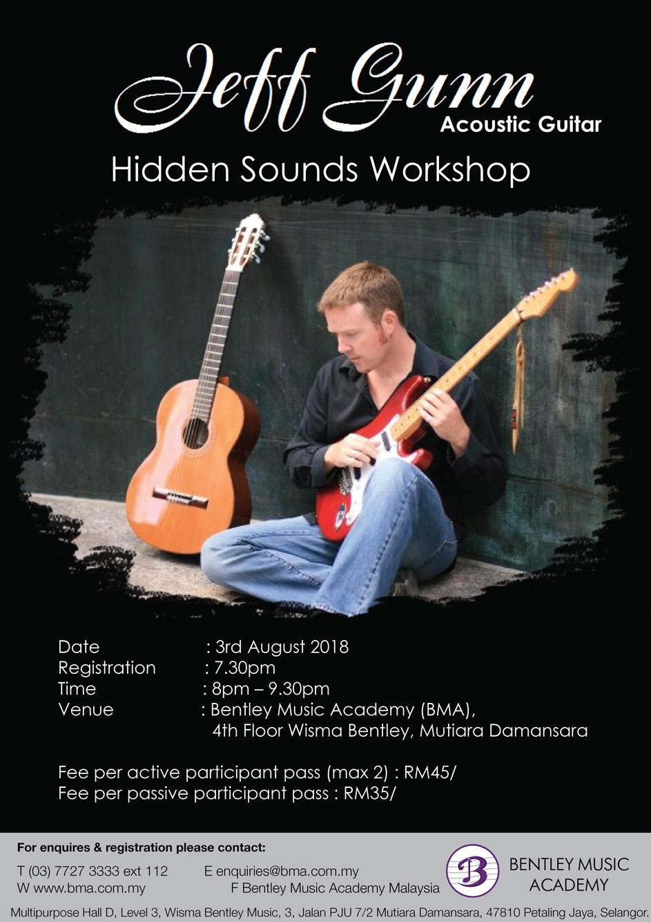 Jeff Gunn : Acoustic Guitar Hidden Sounds Workshop